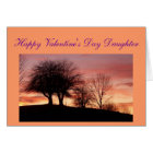 Happy Valentine's Day Daughter Greeting Card