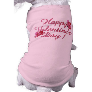 Happy Valentine's Day Dog t-shirt