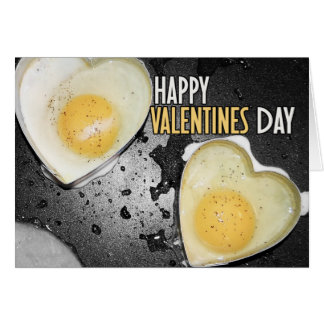 Happy Valentines Day Eggs Card