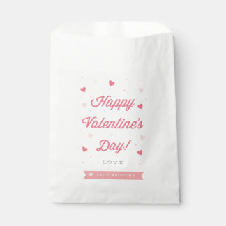 Favor Bags - Happy Valentine's Day Favor Bags