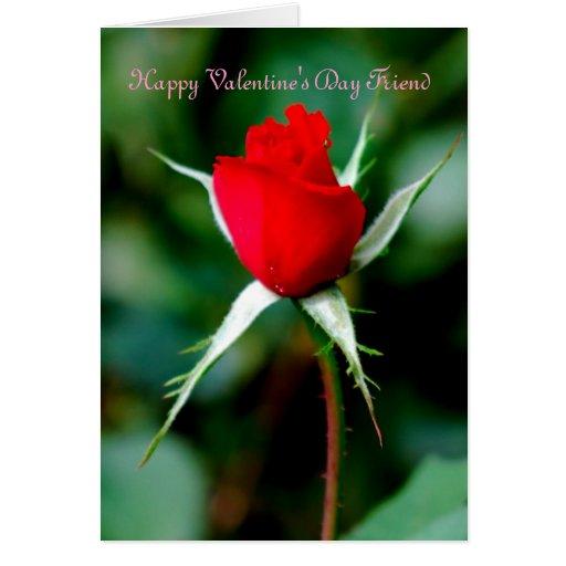 Happy Valentine's Day Friend Greeting Cards