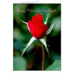 Happy Valentine's Day Friend Greeting Card
