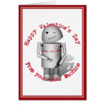 Happy Valentine's Day From Your Love Machine Greeting Card