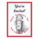 Happy Valentine's Day From Your Love Machine 5x7 Paper Invitation Card