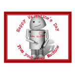 Happy Valentine's Day From Your Love Machine Postcard