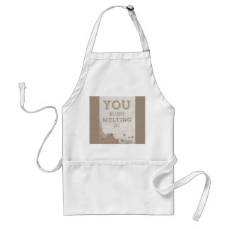 Happy Valentines Day Funny Words Adult Apron