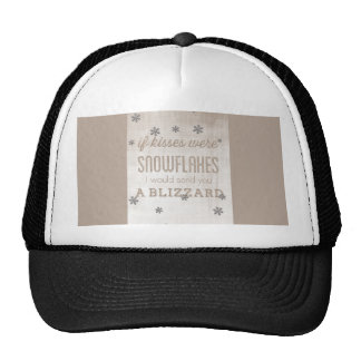 Happy Valentines Day Funny Words Trucker Hat