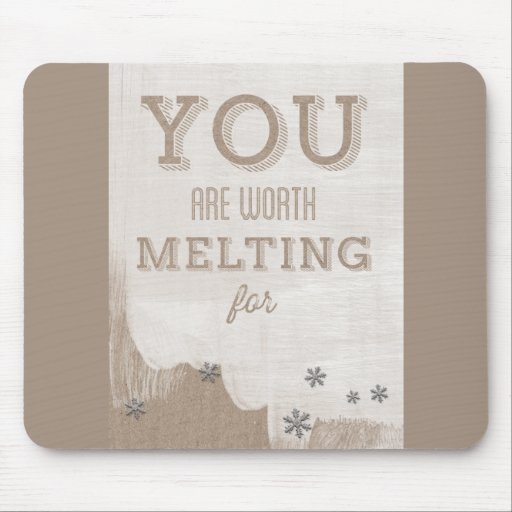 Happy Valentines Day Funny Words Mouse Pad