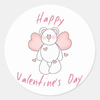 Happy Valentine's Day Gift Round Sticker