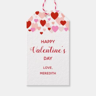 Valentines Day Gift Tags Gift Enclosures Zazzle