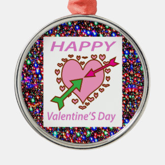 HAPPY Valentine's Day Gifts Heart Arrows Romance Ornaments