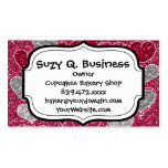 Happy Valentine's Day Glitter Love Bling Hearts Business Cards