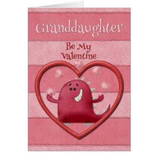 Happy Valentine's Day Granddaughter Greeting Cards