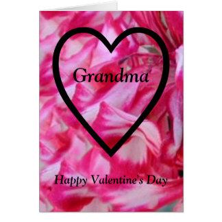 Happy Valentine's Day Grandma Card