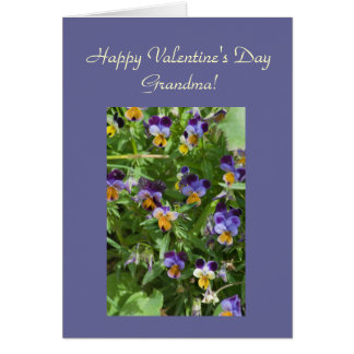 Happy Valentine's Day, Grandma Template Card