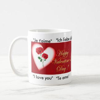 "happy-valentines-day-graphics23, ""I love you"", ... Classic White Coffee Mug"