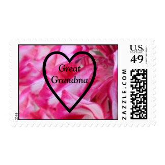 Happy Valentine's Day Great Grandma Postage