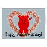 Happy Valentines day! Greeting Card