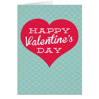 Happy Valentine's Day Heart Greeting Cards