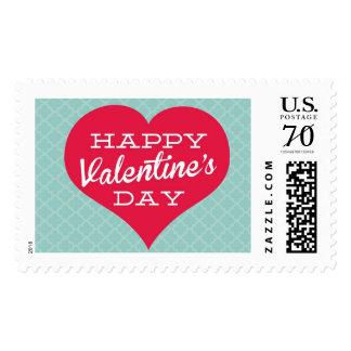 Happy Valentine's Day Heart Stamp
