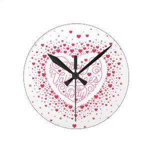 Wall Clock Valentine/'s Gnomes
