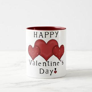 Happy Valentine's Day Hearts D7 Coffee/Tea Mug