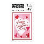 """Happy Valentines Day"" Hearts Stamp"