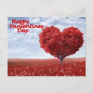 Happy Valentine's Day Holiday Postcard