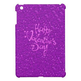 happy Valentines Day, hot pink iPad Mini Cover