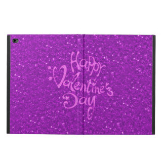 happy Valentines Day, hot pink Powis iPad Air 2 Case