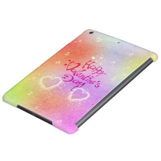 happy valentines day iPad air case