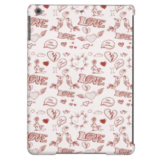 Happy Valentine's Day iPad Air Covers