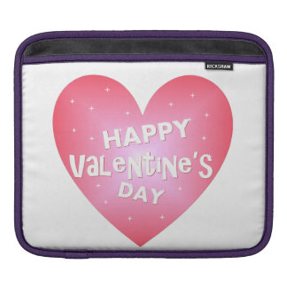 Happy Valentine's day iPad Sleeve