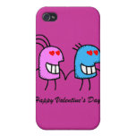 Happy Valentine's Day iPhone 4/4S Case