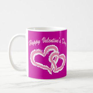 Happy Valentine's Day Kissing Hearts Coffee Mug