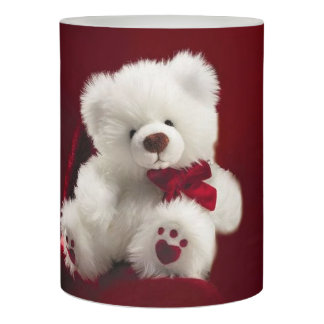 Happy Valentines Day LED Candle/Teddy Bear Flameless Candle