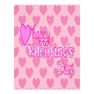 Happy Valentine's Day Letterhead
