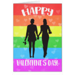 Happy Valentine's Day LGBT Pride Card