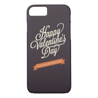 Happy Valentines Day Love iPhone 7 Case