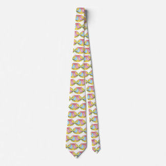 Happy Valentine's Day Lovebirds Neck Tie