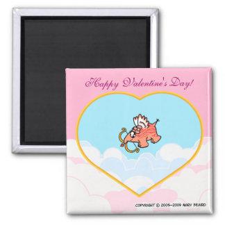 Happy Valentine's Day! Refrigerator Magnets