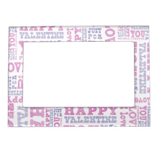 Happy Valentine's Day Magnetic Picture Frame