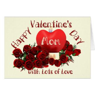 Happy Valentine's Day Mom Card