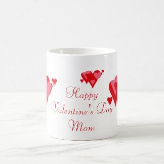 Happy Valentine's Day Mom Coffee Mug