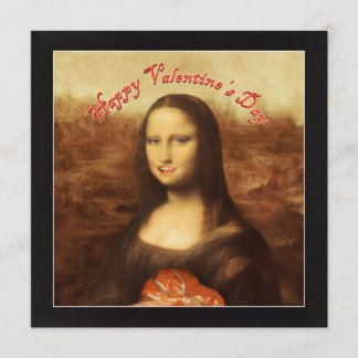 Happy Valentine's Day Mona Lisa ! Invitation
