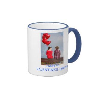 HAPPY VALENTINES DAY MUG CUP TAZA DE CAFÉ