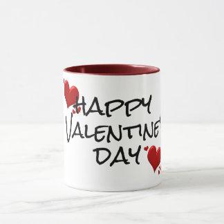 happy valentine's day mug gift idea love hearts