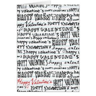 Happy Valentine's Day (near or far) Card