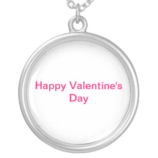 Happy Valentine's Day Personalized Necklace