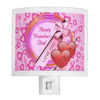 Happy Valentine's Day Night Light